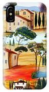 Tuscany Collage IPhone Case