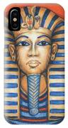 Tut's Golden Mask IPhone Case