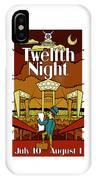 Twelfth Night Poster IPhone Case