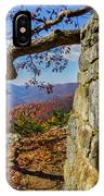 Twenty Minute Cliff Blue Ridge Parkway I IPhone Case
