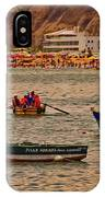 Twilight At The Beach, Miraflores, Peru IPhone Case