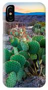 Twilight Prickly Pear IPhone Case