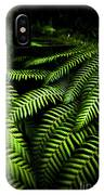 Twilight Rainforest Fern  IPhone Case by Jorgo Photography - Wall Art Gallery