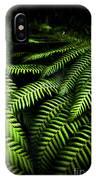 Twilight Rainforest Fern  IPhone Case