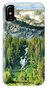 Twin Lakes Waterfall IPhone Case