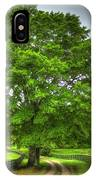 Twin Oaks Drive Southern Living IPhone Case