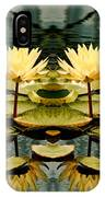 Twin Pond Lillies IPhone Case