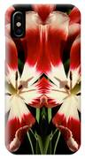 Twin Tulips IPhone Case