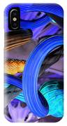 Twisted Blue IPhone Case