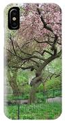 Twisted Cherry Tree In Central Park IPhone Case
