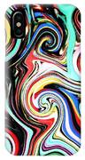 Twisted Lines IPhone Case