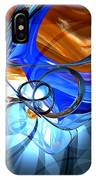 Twisted Spiral Abstract IPhone Case