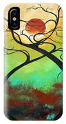 Twisting Love II Original Painting By Madart IPhone Case