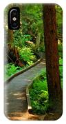 Twisting Path Through The Woods IPhone Case