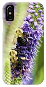 Salvia With Bees IPhone Case