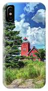 Two Harbors Lighthouse IPhone Case