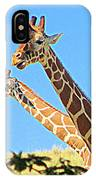 Two Heads Are Better Than One IPhone Case