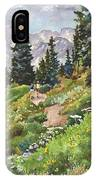 Two Hikers IPhone Case