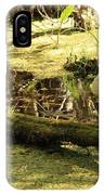 Two Ibises On A Log IPhone Case