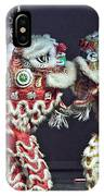 Two Lions Kung Fu Club IPhone Case