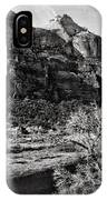 Two Peaks - Bw IPhone Case