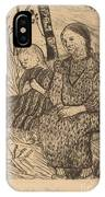 Two Peasant Girls IPhone Case
