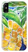 Two Purple Pineapples IPhone Case