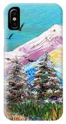 Two Soaring Birds IPhone Case