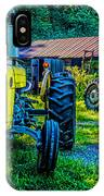 Two Tractors And A Barn 2697t IPhone Case