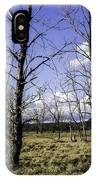 Two Trees Of Blue IPhone Case