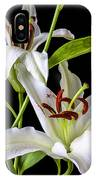 Two Wonderful Lilies  IPhone Case