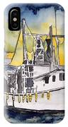 Tybee Island Georgia Boat IPhone Case