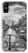 Typical Amsterdam - Monochrome IPhone Case