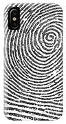 Typical Whorl Pattern In 1900 IPhone Case