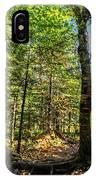U Shaped Trees Cascade Mountain Ny New York IPhone Case