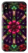 u028 Wholehearted Hibiscus IPhone Case