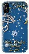 Ucla Bruins Christmas Card IPhone Case