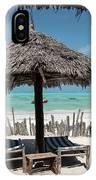 Uhuru Beach Lodge Zanzibar - Notkak IPhone Case