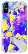Ultraviolet Daylilies IPhone Case