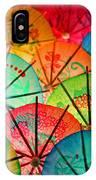 Umbrellas Galore IPhone Case