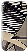 Umbrellas Sepia IPhone Case