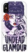 Undead Glamour IPhone Case
