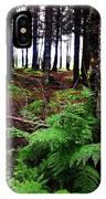 Under The Alaskan Trees IPhone Case