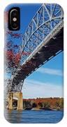 Under The Bourne Bridge IPhone Case