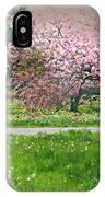 Under The Cherry Tree IPhone Case