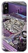 Under The Hood 66 Impala_1b IPhone Case