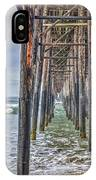 Under The Oceanside Pier IPhone Case
