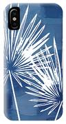 Under The Palms- Art By Linda Woods IPhone Case