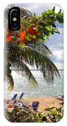 Under The Palms In Puerto Rico IPhone X Case