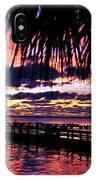 Under The Palms Sunrise IPhone Case